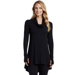 Cuddl Duds Long Sleeve Cowl Tunic Size S